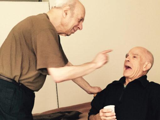 Harry Goldsteen (links) en Tim Krabbé